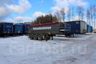 Kassbohrer. Новый самосвальный полуприцеп Kaessbohrer Объем: 22 куб., 39 000 кг.