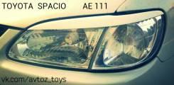 Накладка на фару. Toyota Corolla Spacio, AE111, AE111N