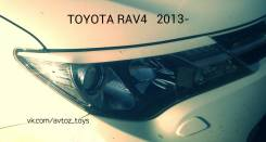 Накладка на фару. Toyota RAV4