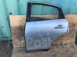 Дверь боковая. Infiniti FX45 Infiniti QX70, S51 Infiniti FX50 Nissan Infiniti FX45/35 Двигатели: V9X, VK50VE, VQ37VHR