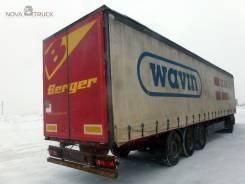 Berger SAPL 24 LT, 2007. Полуприцеп-штораBerger SAPL 24 LT, 29 535 кг.