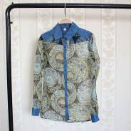 Рубашки джинсовые. 40, 42, 44, 40-44