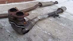 Приемная труба глушителя. Toyota Caldina, ST210 Двигатель 3SGE. Под заказ
