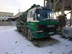 Isuzu. Автобетононасос Роторный- Kyokuto Kaihatsu, 25 м.