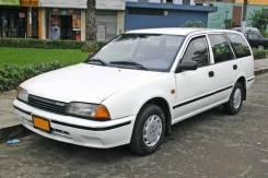 Радиатор охлаждения двигателя. Nissan Avenir Двигатель GA16DS