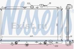 Радиатор охлаждения двигателя Honda (OE: 633141) АКПП, Nissen Дания. Honda Accord