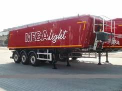 MEGA. Полуприцеп Mega самосвальный Алюминевый 28м3 2017г, 30 000 кг. Под заказ