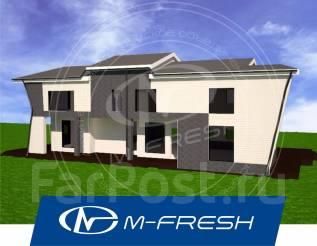 M-fresh New Zeland (Свежий проект большого дома для Вас! ). 400-500 кв. м., 2 этажа, 5 комнат, бетон