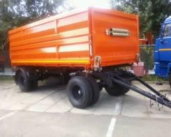 Сзап 8551. Прицеп СЗАП 8551-02М6 или Нефаз 8551-21-02 сельхозник самосвальный, 12 000 кг.