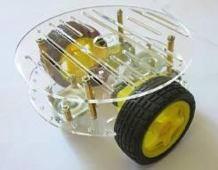 Платформа для робота 2WD Arduino (круглое шасси) Itslab