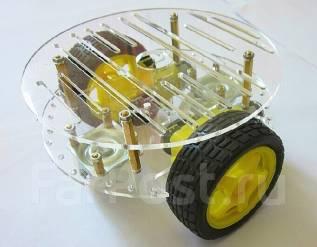 Платформа для робота 2WD Arduino (круглое шасси) Itslab. Под заказ