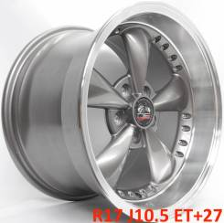 Оригинал! OE Wheels 8182058 R17 J9 ET+24 5Х114,3 [1834]. 10.5x17, 5x114.30, ET27, ЦО 70,8мм.