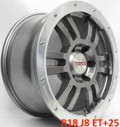 Toyota Land Cruiser Prado. 8.0x18, 6x139.70, ET25, ЦО 106,1мм.