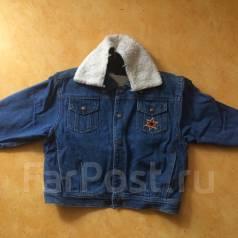 Куртки джинсовые. Рост: 86-98 см