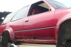Стекло боковое. Toyota Hilux Surf, LN130G, LN130W