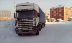 Scania. Продам седельный тягач-сцепка-штора G420, 12 000 куб. см., 24 000 кг.