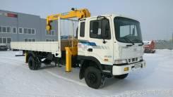 Hyundai HD120. D6DA 4WD с КМУ Soosan 513, 6 606 куб. см., 5 000 кг.