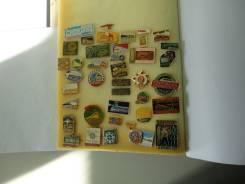 Коллекция значков туризм поезда
