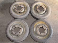 Продам резину LT 155R12 на дисках с грузовика. 4.0x12 6x114.30