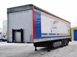 Kogel SN24. Шторно-бортовой полуприцеп 2012г/в, 28 340 кг.