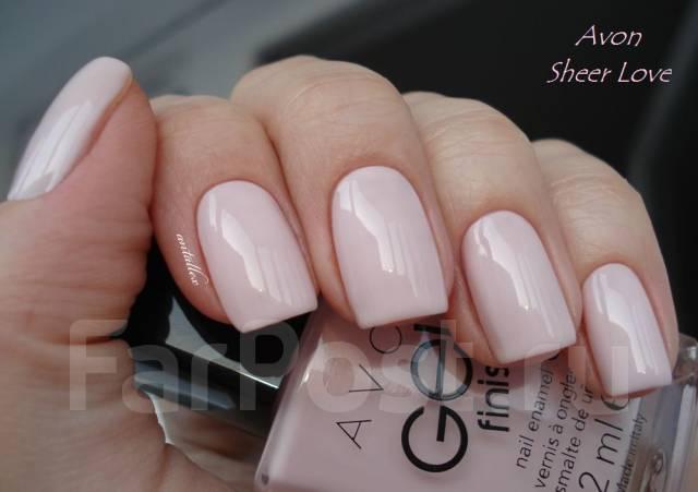 гель лак нежно-розовый фото