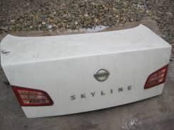 Крышка багажника. Nissan Skyline, HV35, NV35, V35 Двигатели: VQ30DD, VQ25DD