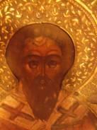 Икона 19в. целитель Антипий 31х26. Оригинал