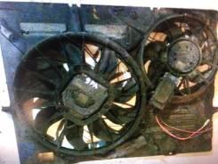 Вентилятор охлаждения радиатора. Porsche Cayenne, 9PA Двигатели: M022Y, M, 48, 00, 50, M02, 2Y