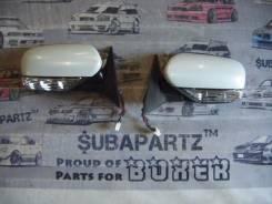 Зеркало заднего вида боковое. Subaru Legacy, BLE, BP5, BG2, BP9, BL5, BD2, BC2, BPE Двигатели: EJ20X, EJ20Y, EJ253, EJ202, EJ203, EJ204, EJ30D, EJ22