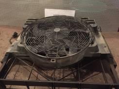 Вентилятор радиатора кондиционера. BMW X5