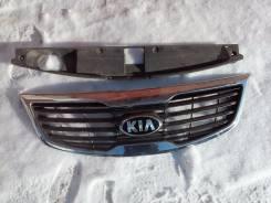Решетка радиатора. Kia Sportage, SL Двигатель G4KD