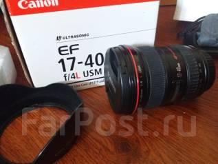 Продам объектив canon 17-40 /f4/L. Для Canon