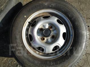 Колеса 165R13 LT на дисках 4x100. x13 4x100.00 ЦО 54,0мм.