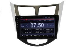 Штатная магнитола Hyundai Solaris, Verna