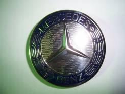 """Колпачки диска ЦО (заглушка диска)центрального отверстия Mercedes 75мм. Диаметр 17"""", 4 шт."""