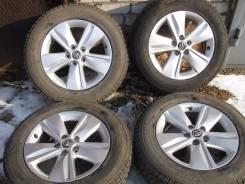 Продаю колёса на Xarrier 2014г с штатным литьём и зимней резиной. 7.0x17 5x114.30 ET39 ЦО 60,0мм.