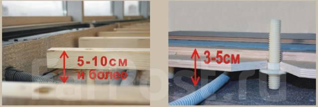 Плотницкие работы. Монтаж деревянных полов и покрытий.