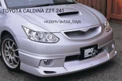 Накладка на фару. Toyota Caldina, ZZT241, ZZT241W