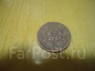 Продам или обменяю монету Денга 1754г.