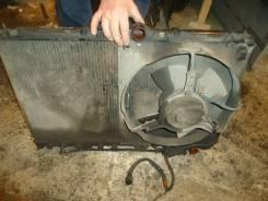 Радиатор охлаждения двигателя. Mitsubishi Diamante, F15A Двигатель 6G73