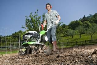 Вспашка дач и огородов мотокультиватором