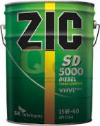 ZIC 5000. Вязкость 15w40, минеральное. Под заказ