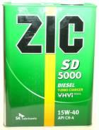 ZIC 5000. Вязкость 15W-40, минеральное. Под заказ
