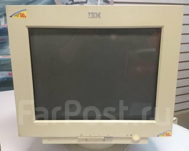 """IBM. 15"""", технология ЭЛТ (CRT)"""