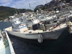 Шхуна рыболовная скоростная из Японии. Год: 1983 год, длина 15,00м., двигатель стационарный, 300,00л.с., дизель. Под заказ