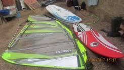 Продам доски и парус для серфинга