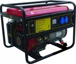 Генератор бензиновый Калибр БЭГ-6511А, 6,5 кВт, электропуск