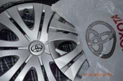 "Новые колпаки 16 Toyota Corolla. Диаметр Диаметр: 16"", 4 шт."