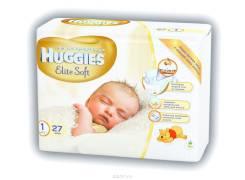 Huggies. 0-5 кг 27 шт