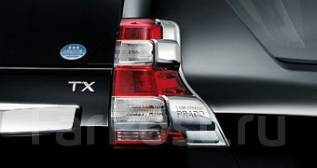 Накладка на стоп-сигнал. Toyota Land Cruiser Prado, GDJ150L, GDJ150W, GDJ151W, GRJ150L, GRJ150W, GRJ151W, KDJ150L, TRJ12, TRJ150W Двигатели: 1GDFTV, 1...